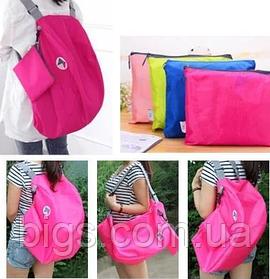 Сумка рюкзак городская 54*27 см Розовый