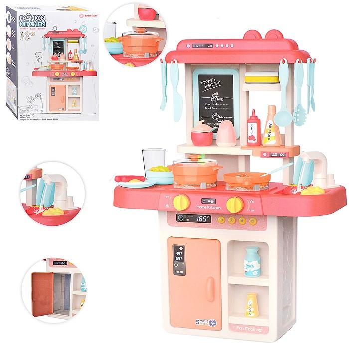 Игровая детская кухня Fashion Kitchen 889-179 с водой, 43 предмета
