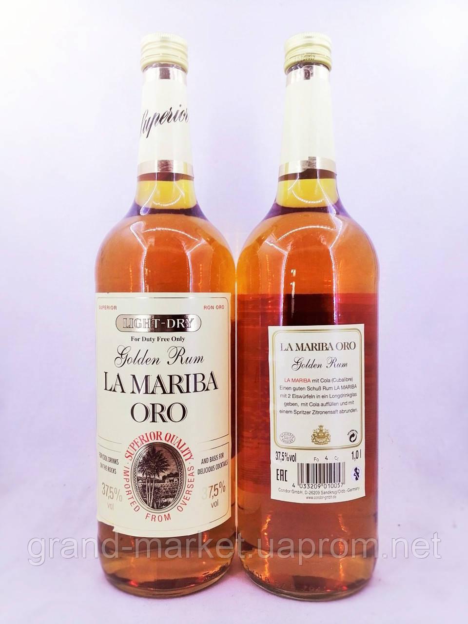 Ром La Mariba Oro 1л
