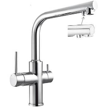 Смеситель для кухни однорычажный с подключением для питьевой воды DAICY Imprese