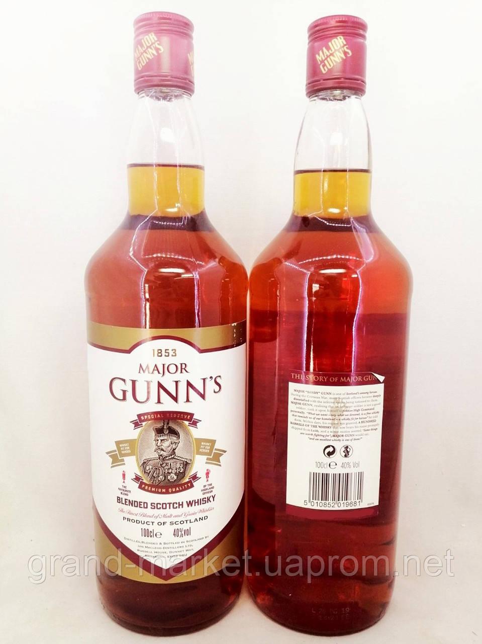 Віскі Major Gunn's 1л