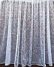 Тюль готовая пошитая с тесьмой белая 3 м Другой размер код 014855