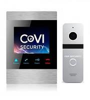 Комплект домофона CoVi Security HD-06M-S + Iron Silver