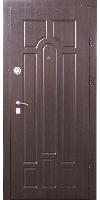 Входные двери Форт Классик орех темный/коньячный (квартира)