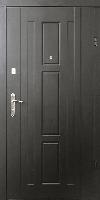 Входные двери Форт Трояна венге темный (квартира+притвор)