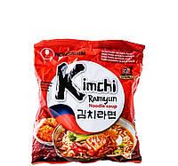 Лапша Рамен быстрого приготовления Кимчи Kimchi Nong Shim 120 г, фото 1