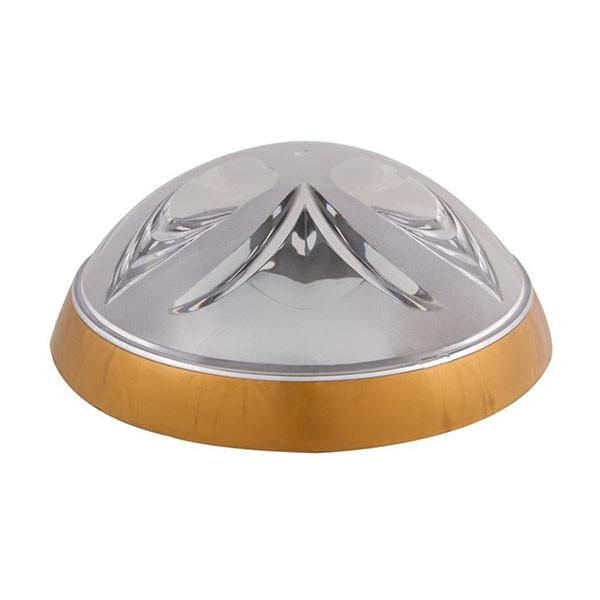 Светильник потолочный ERKA 1126-G прозрачный/золото