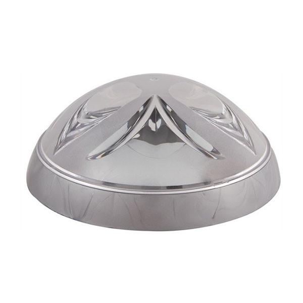Светильник потолочный ERKA 1126-S прозрачный/серебро