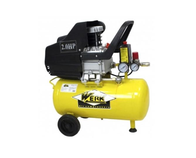 Поршневой компрессор Werk BM-2T50N ! 200 л/мин - 50 л. - 1500 Вт