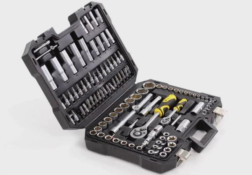 Набор ключей головок инструментов Сталь AT-1082 ! 108 елементов