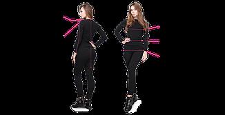 Блузка женская черная летняя с коротким рукавом. Ткань супер софт Повседневная, офисная легкая блуза, фото 2
