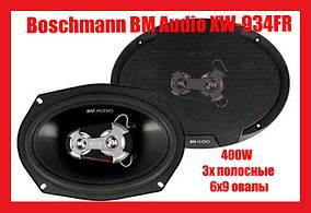 Динамики Boschmann BM Audio XW-934FR 400W 3х полосные 6x9 овалы