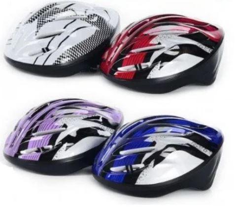 Шлем защитный, 7 отверстий для вентиляции, красный, MS0033