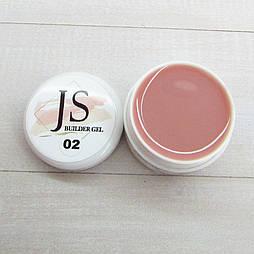 Гель JS 02 (світло-камуфляжний) 15г
