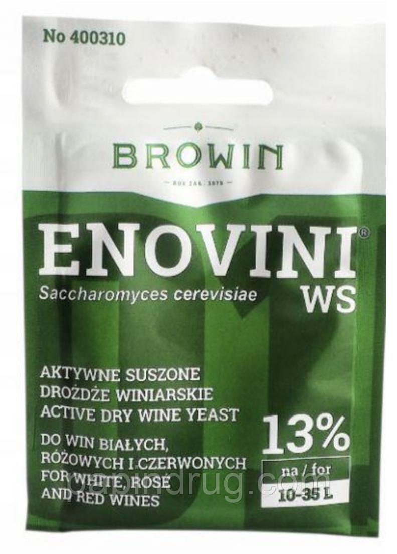 Винні дріжджі Enovini WS для столових вин
