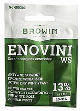 Сухие винные дрожжи Enovini WS для столовых вин