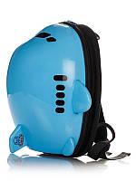 Рюкзак детский Самолет голубой BST 105160