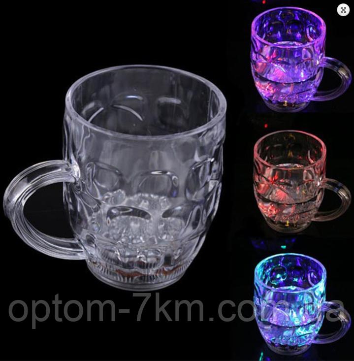 Чашка, кружка з LED підсвічуванням color cup (w-70) М