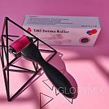 Мезороллер MTRoller для тіла (2 мм), дермароллер 1200 голок, титан, фото 5