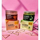 Скраб для тела Bioaqua almond body scrub с экстрактом абрикоса, 120 г, фото 3
