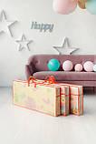 Бесплатная доставка! Двухсторонний детский складной коврик  (Дорожки/Поляна) размер 1,8 на 2 м, фото 3