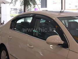 Дефлектори вікон (вітровики) VW Passat B6/В7 2005 -> 4D Sedan 4шт (HIC)
