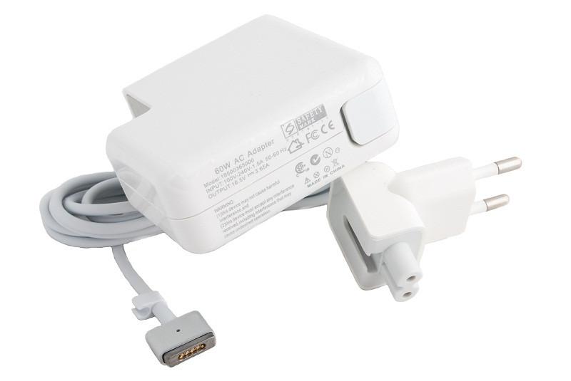 Блок питания для ноутбуков PowerPlant APPLE 220V, 16.5V 60W 3.65A (MagSafe 2)