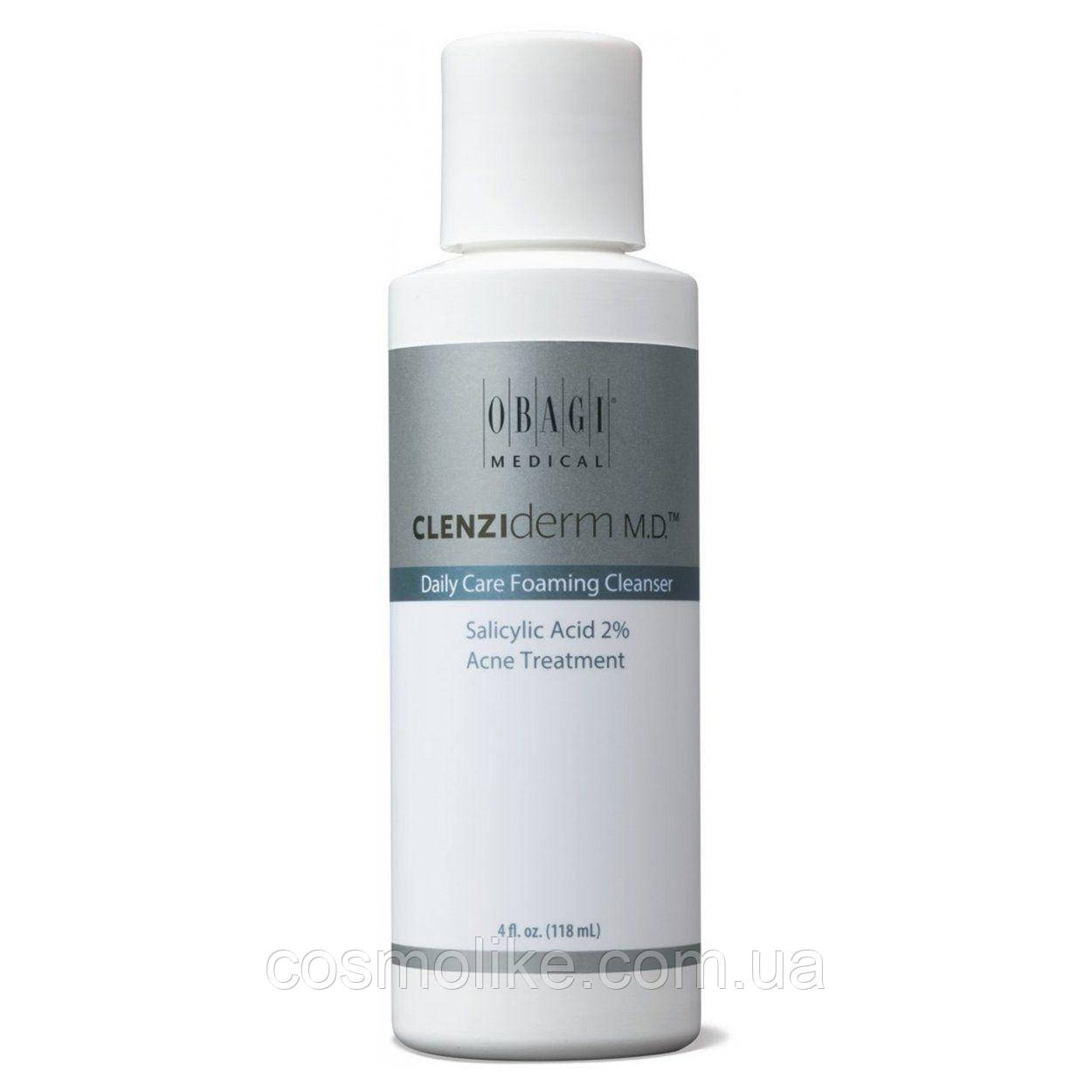 Obagi CLENZIderm Daily Care Foam Cleanser Очищающее средство с салициловой кислотой 2% 118 мл