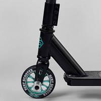 Самокат трюковый Best Scooter , ПЕГИ, алюминиевый диск,110 колесо, фото 1