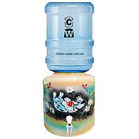 Керамический диспенсер для воды «Далматинец Желтый», фото 1