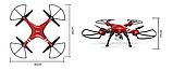 Квадрокоптер Syma X8HG з HD камерою 5 Мегапікселів 4CH 2.4 G . Дрон на пульті, фото 2