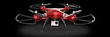 Квадрокоптер Syma X8HG з HD камерою 5 Мегапікселів 4CH 2.4 G . Дрон на пульті, фото 7