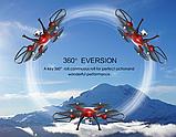 Квадрокоптер Syma X8HG з HD камерою 5 Мегапікселів 4CH 2.4 G . Дрон на пульті, фото 8