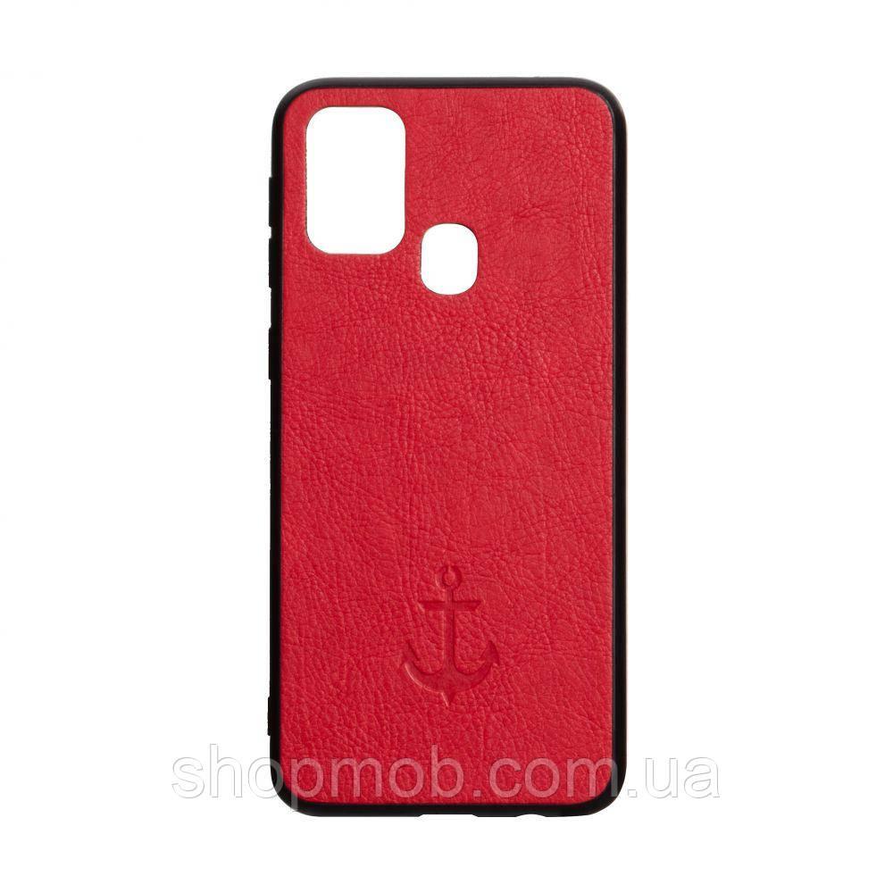 Чехол Anchor for Samsung A21s Цвет Красный