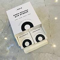 Крем-фарба для брів з окислювачем з екстрактом хни в наборі 4 кольори в тубі по 15 мл OKIS BROW