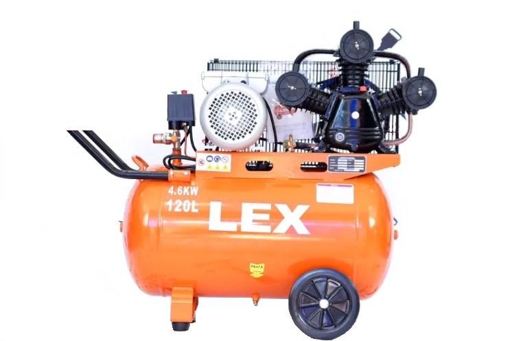 Компрессор поршневой ременая передача LEX LXAC365-120