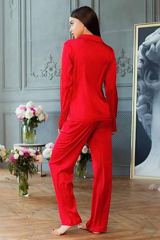 Піжама Шеллі DONO (PH3137, червоний), фото 2