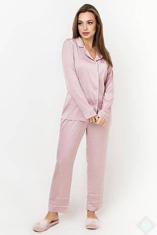 Пижама Кристи DONO (DPK2935, пудра\белый горох), фото 2