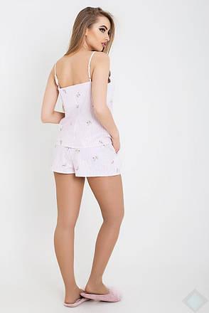 Комплект Кира DONO (KK2637, полоска\розовый\цветок), фото 2