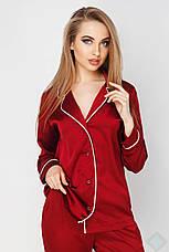 Пижама Кристи DONO, бордовый, фото 3
