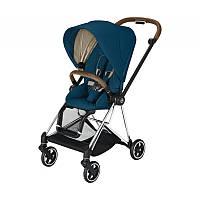 Прогулочная коляска Cybex Mios Mountain Blue шасси Chrome Brown , Бесплатная доставка курером