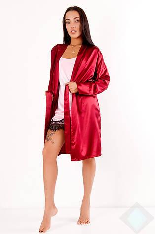 Комплект Грейс DONO, бордовий/рожевий, фото 2