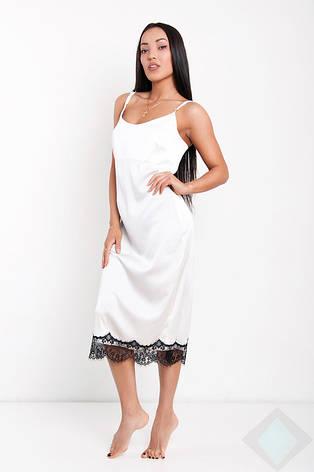 Ночная рубашка Венера midi DONO, белый, фото 2