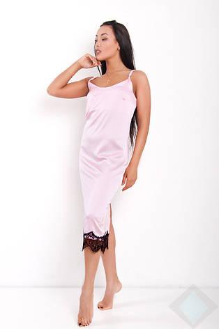 Ночная рубашка Венера midi DONO, розовый, фото 2