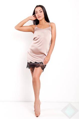 Нічна сорочка Венера DONO, бежевий, фото 2