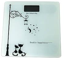 Весы напольные Domotec YZ-1604 коты