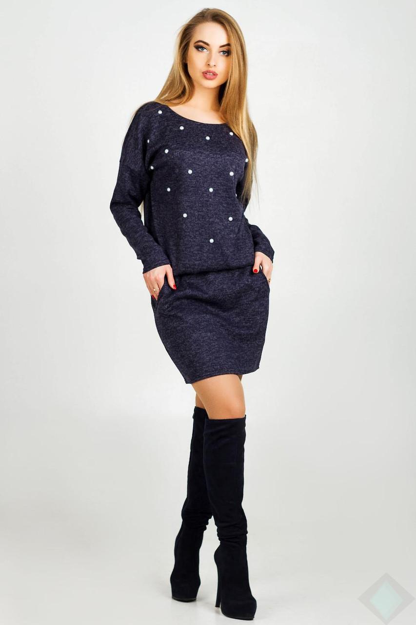 Платье женское Бренда, PB2002 синий