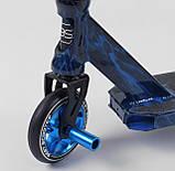 Самокат трюковый 68706 Best Scooter HIC-система, ПЕГИ, алюминиевый диск и дека, колёса PU, d=110мм, фото 4