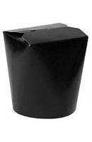 Коробка бумажная (лапша) ФЛТ 750мл черная 50/уп 500/ящ