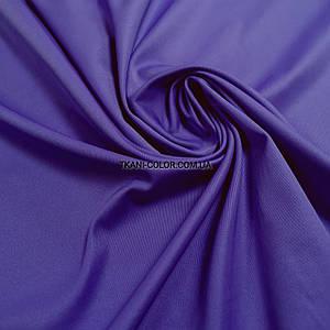Костюмная ткань коттон мемори фиолетовый